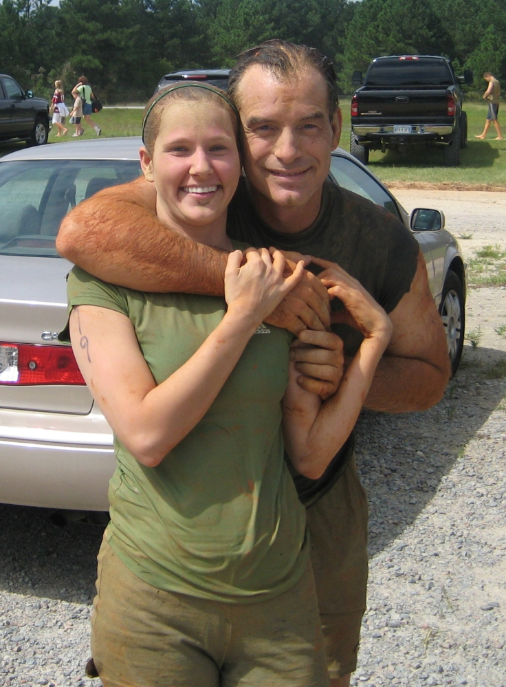 Lori & Scott after Mud Run 2008